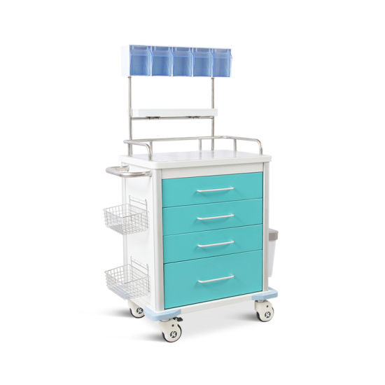 Skr-Et053 Emergency Utility Drugs Trolley Manufacturer pictures & photos