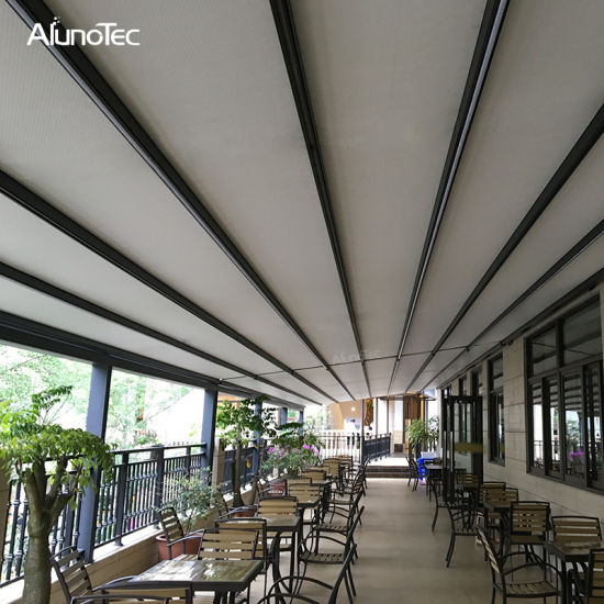 China Waterproof Roof Awnings Motorised Balcony ...