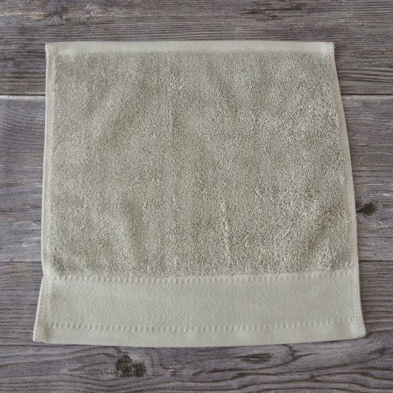 Buy 100% Cotton Dobby Grey Gift Face Towels From China