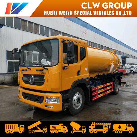 Dongfeng Hot Sale Waste Water Suction Sewage Disposal Tank Truck