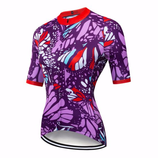 High Quality 100% Polyester Breathability Wholesale Custom Sublimation Ride Jacket Digital Printing Reversible Quickly Dry Jacket