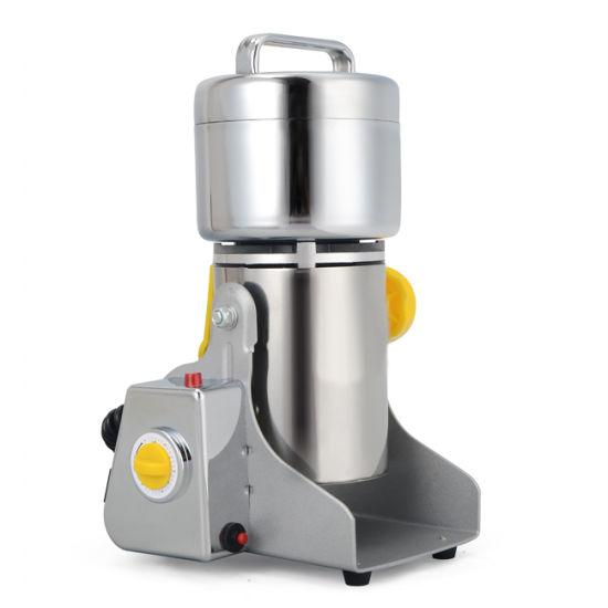 Electric Stainless Steel 400g Powder Swing Grain Pulverizer Grinder Machine