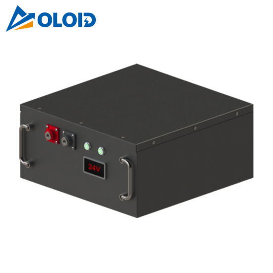 100ah Solar Li-ion Rechargeable Box LiFePO4 Lithium Battery with BMS pictures & photos