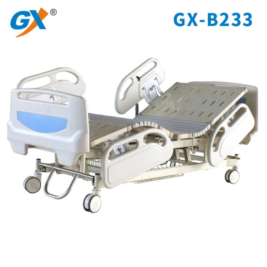 Three Functions Electric Hospital Bed with Soft Connection