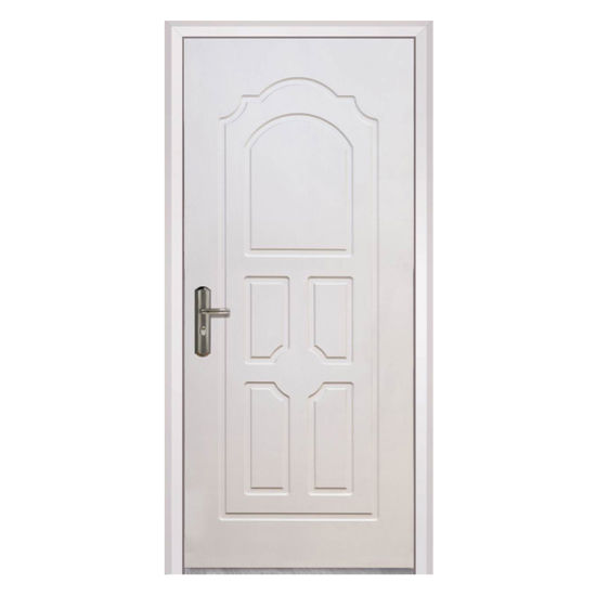 White Color Painting Wooden Fire Rate Door Two Hours Fire Rate
