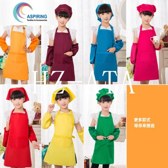 Set Kid′s Size Chef Kids Child′s Chef Hat Apron pictures & photos