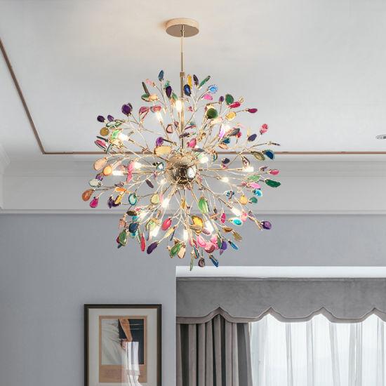 Nordic Living Room Chandelier Modern Creative Girl Bedroom