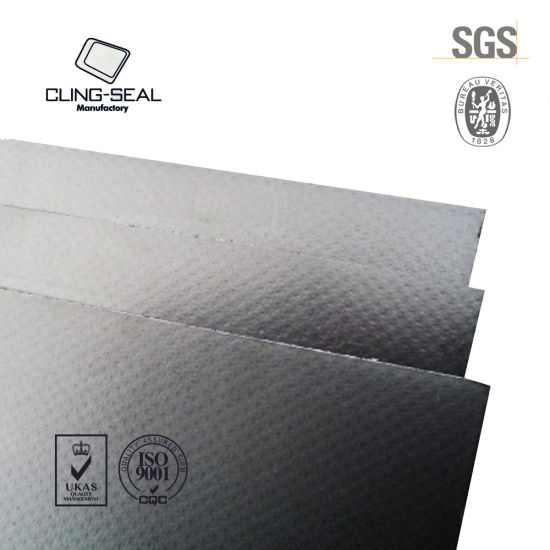 Reinforced Graphite Gasket Sheet with SS304/ 316/ Carbon Steel/ Tinplate
