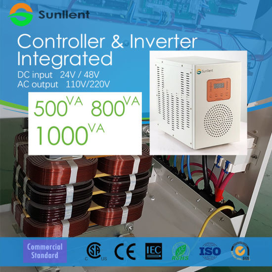 DC24V DC48V Solar Power Integrated Device Solar Controller and Inverter