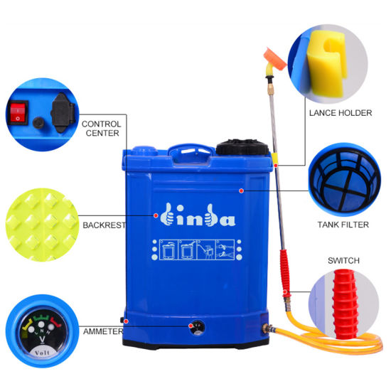 China High Efficiency 16L Battery Sprayer - China Battery Sprayer ...