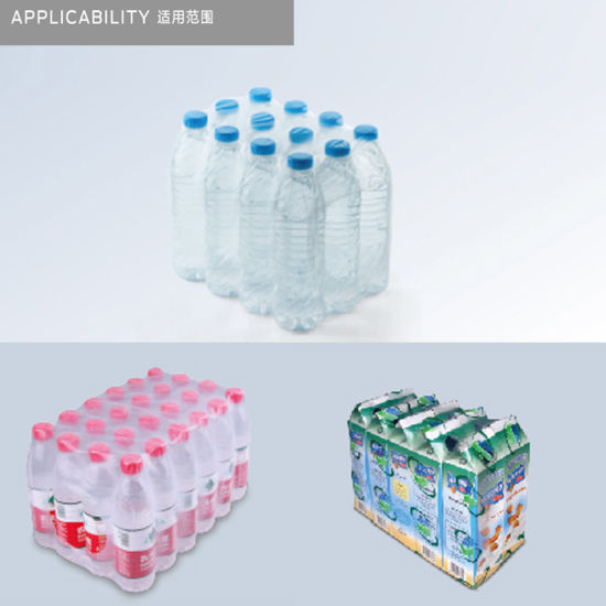 Automatic Mineral Water Bottle Collating Thermal Shrink Wrapping Machine pictures & photos