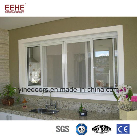 china three tracks glass aluminum sliding window price philippines