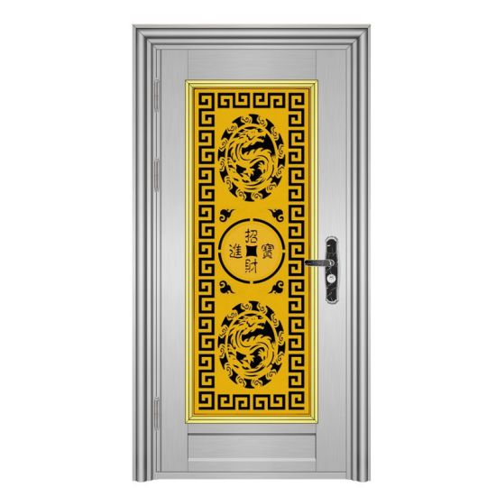 China Stainless Steel Grill Design Front Door Design China Flowers