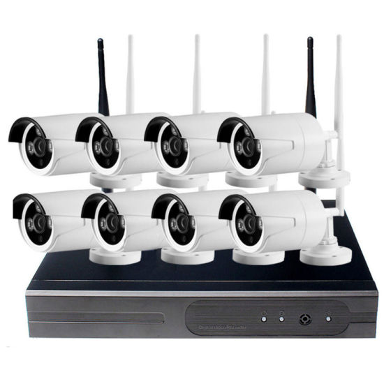 1080P 8CH Home Security Camera System Wireless Outdoor WIFI CCTV Video 2MP NVR