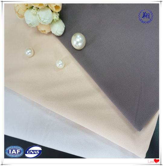 Nylon Spandex Microfinber Jacquard Fabric for Underwear