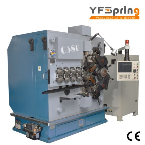 China yfspring coilers c580 multi servos wire diameter 300 800 yfspring coilers c580 multi servos wire diameter 300 800 mm cnc spring coiling machine keyboard keysfo Choice Image