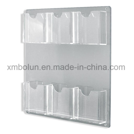 New High Technology Acrylic Outdoor Brochure Holder