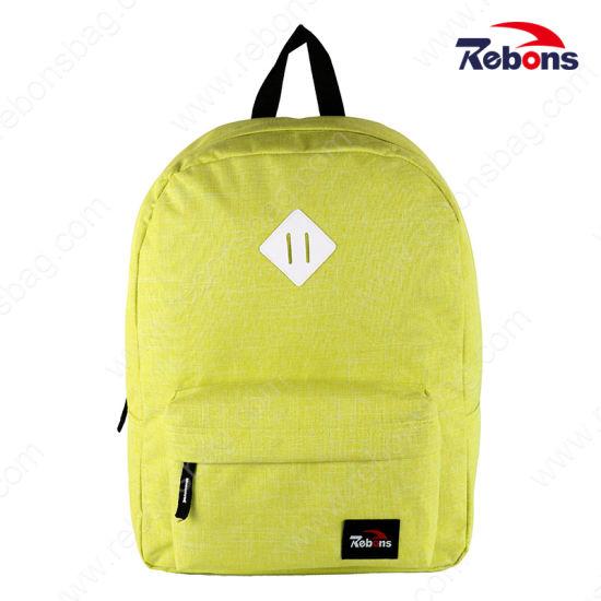 Popular Canvas School Laptop Hiking Jansport Backpack Ruck Sack for Girls