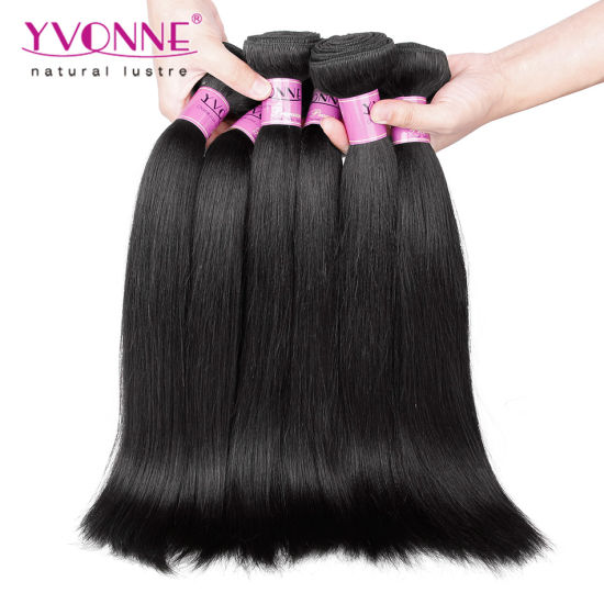 Wholesale Price 100 Virgin Hair Brazilian Human Hair Extension Yaki Straight pictures & photos