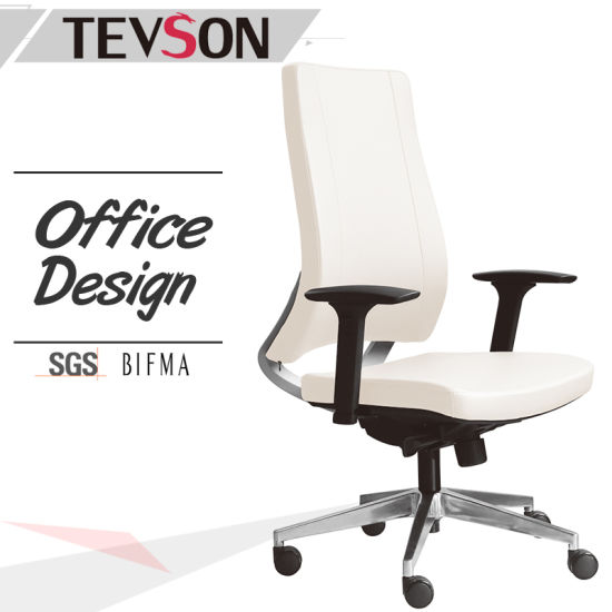 china swivel staff manager pu leather office chair for boss and