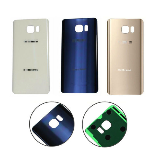 outlet store 6d72a 802a3 China Battery Back Door Cover Replacement for Samsung Galaxy Note5 ...