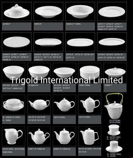 Hotel and Restaurant Ceramic Tableware