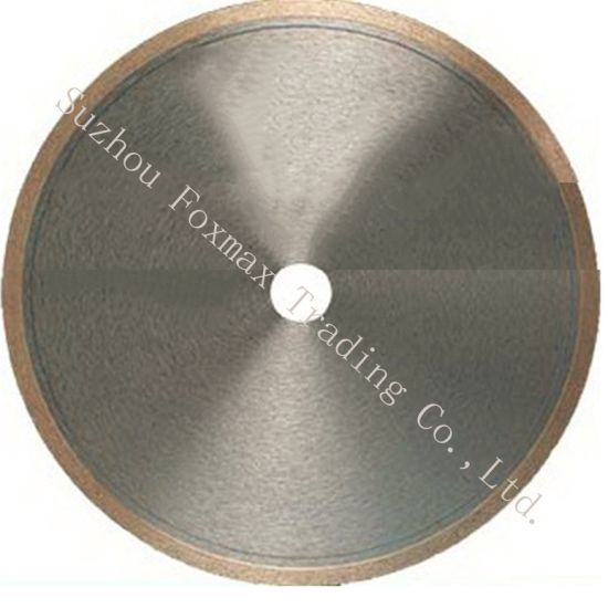 High Quality Diamond Cutting Disc Wet Cutting (FMD-01) pictures & photos