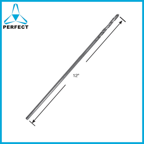 12 Inch HSS Aircraft Extension Extra Long Drill Bit for Metal Stainless Steel Aluminium Drilling