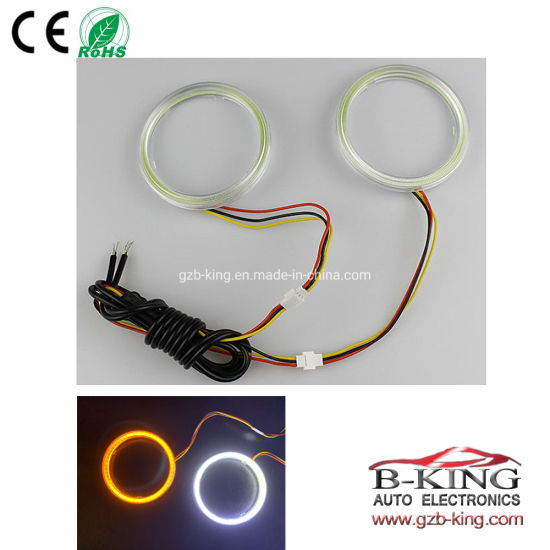 Car Decoration COB Halo Ring Angel Eyes with Turning Function