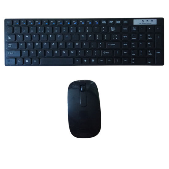 Slim Ultrathin Wireless Mouse and Keyboard Combo