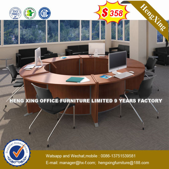 china leather triangle meeting room square conference table hx