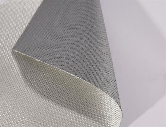 0.85 mm Fireproof Fabric Silicone Coated Fiberglass Fabric