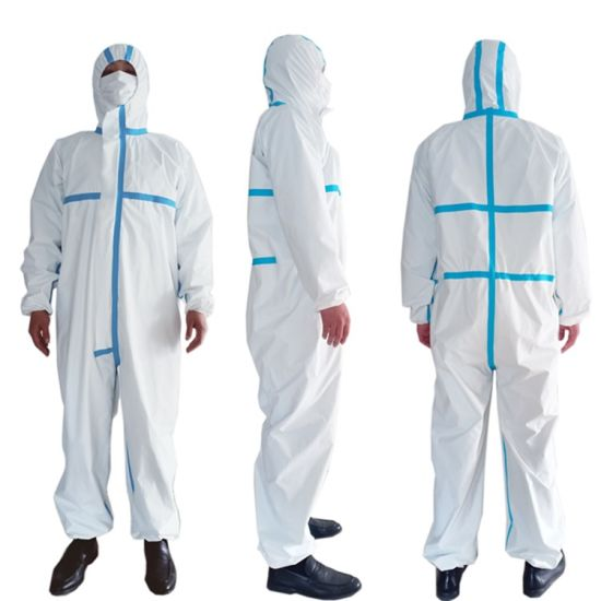 Disposable SMS Medical Protective Coverall for Hospital