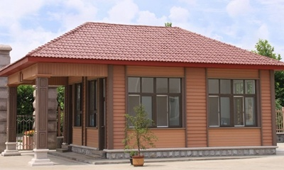 High Quality Exterior WPC Wall Panel for Villa