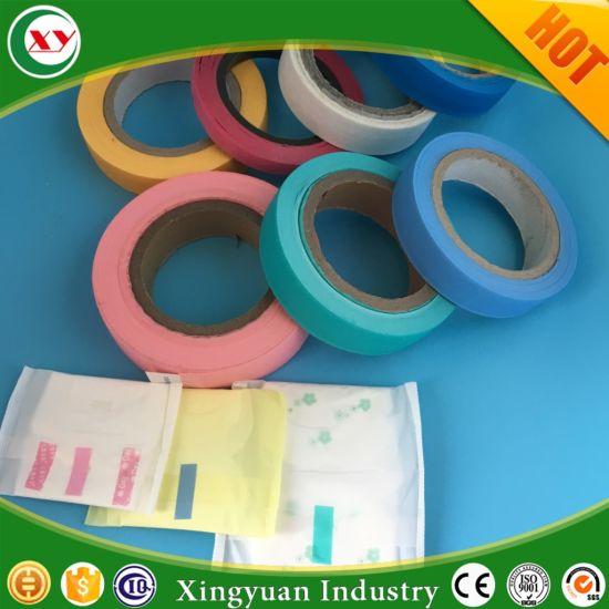 Fingerlift Reseal Tape for Sealing The Individual Pack Sanitary Napkin
