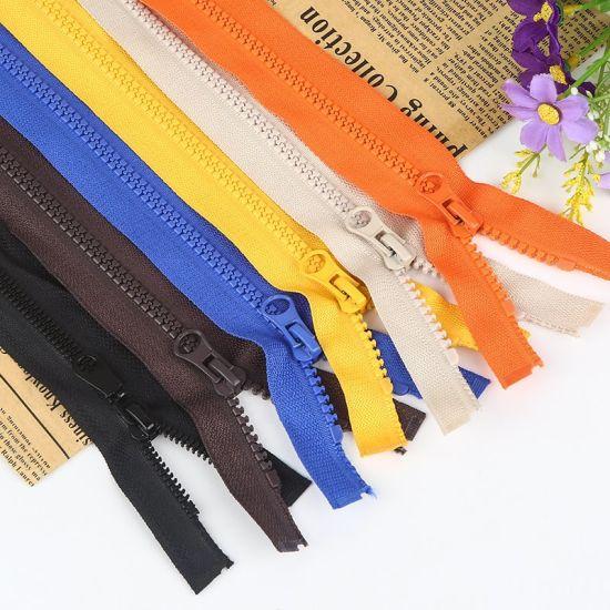 #5 Plastic Zipper for Garment Resin Zipper Factory Wholesales