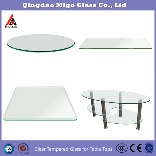 China Glass Manufacture Direct Tempered Glass Patio Table Top With Rounded Edge 5 16 Inch Thick 36 Inch Round Tempered Glass China Table Top Glass Panels Glass Table Top Replacement