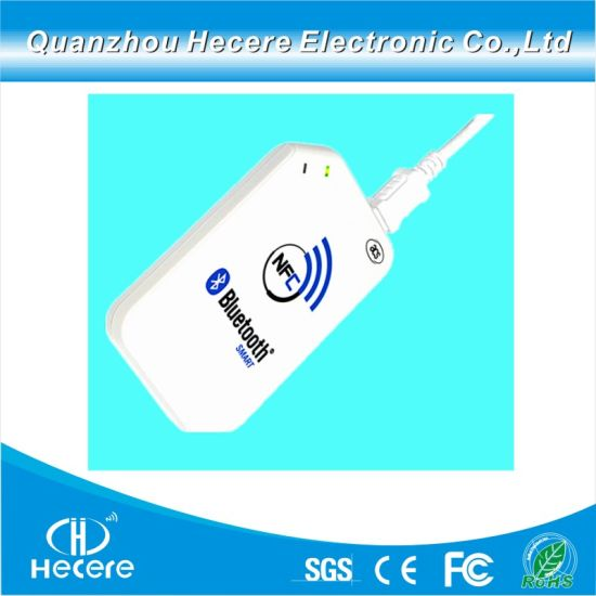 Android RFID NFC Reader and Writer 13 56MHz MIFARE Card Reader with  Bluetooth