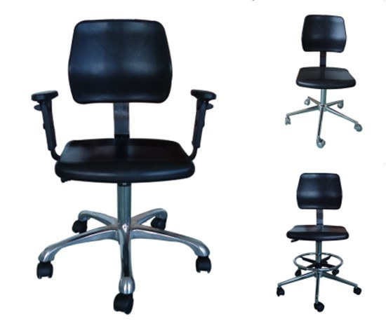 ESD Cleanroom Antistatic Chair Stool with PU Foam pictures & photos