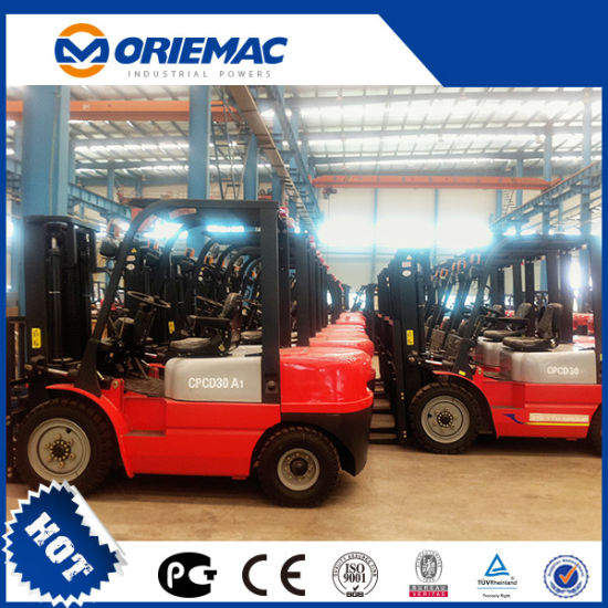 Heli New 3 Ton Forklift Price Diesel Forklift (CPCD30) pictures & photos