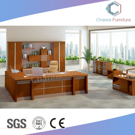 Factory Price Modern Furniture Wood Manager Office Table pictures & photos