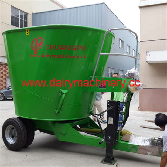 Vertical Cattle Feed Mixer for Cattle Farm