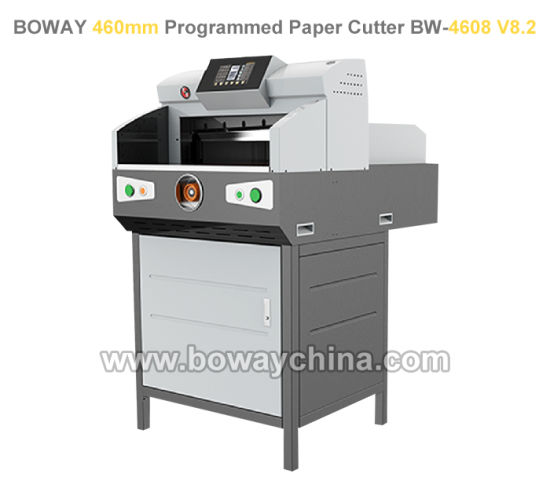 2018 New 80mm Thickness 460mm Electric Microcomputer Program Control Paper Cutting Machine pictures & photos
