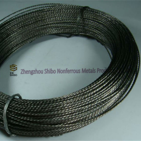 99.95% Tungsten Wires, White Tungsten Filament pictures & photos