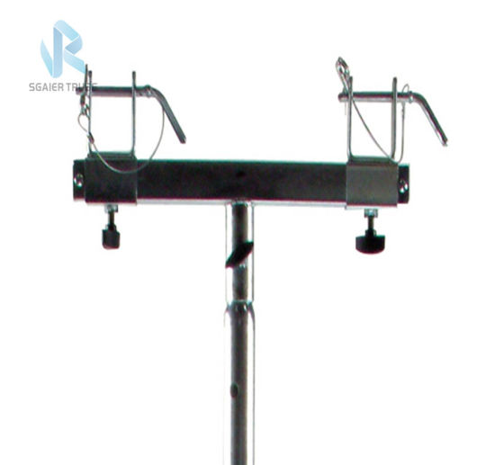 2~6m Adjustable Height Hand Crank Line Array Speaker Stand Lift Tower