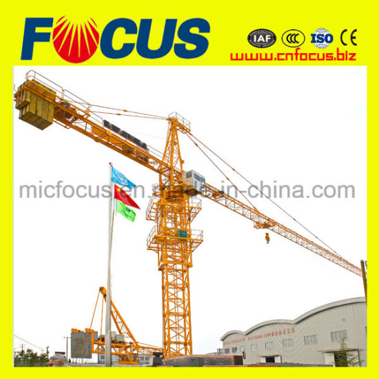 2 Ton Qtk20 Fast Erecting Crane for Sale pictures & photos