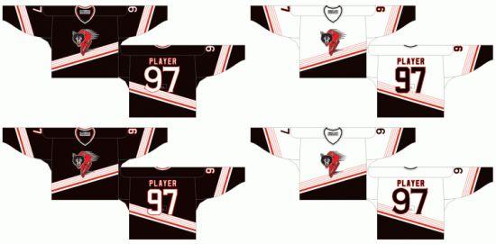 China Customized Quebec Major Jr Hockey League Rouyn Noranda Huskies