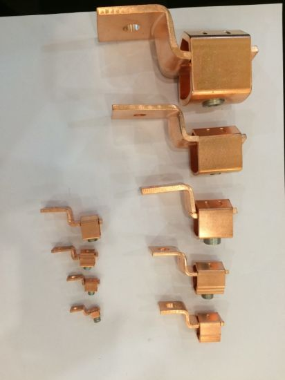 Copper Single-Conductor, One-Hole Mount (Offset-Tang) , Conductor Range 1/0 Str-500 Kcmil pictures & photos