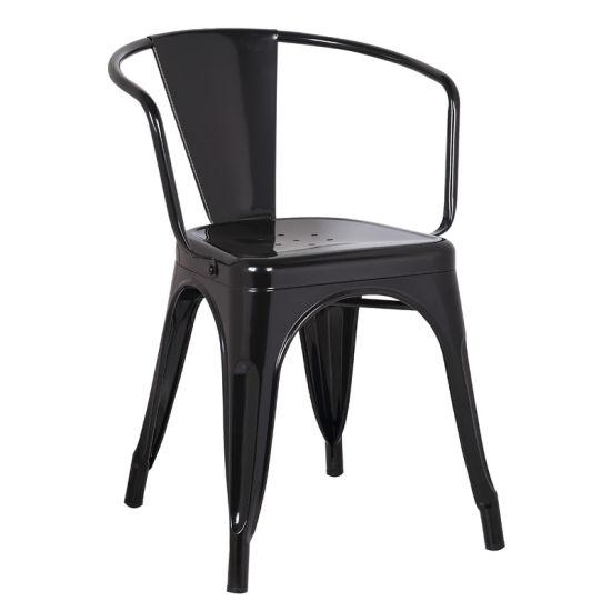 Antique Bistro Metal Tolix Cafe Restaurant Leisure Dining Chair