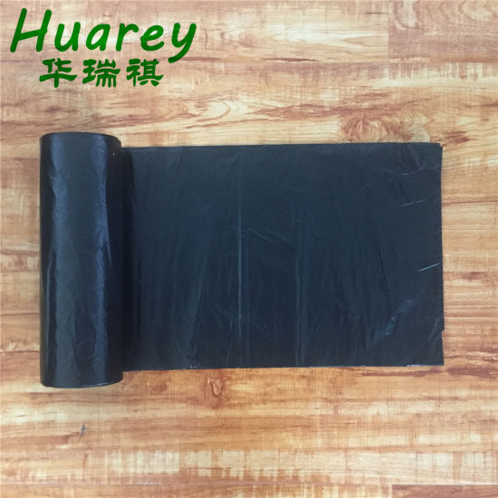 HDPE/LDPE Plastic Trash Bag, Garbage Bags on Roll pictures & photos